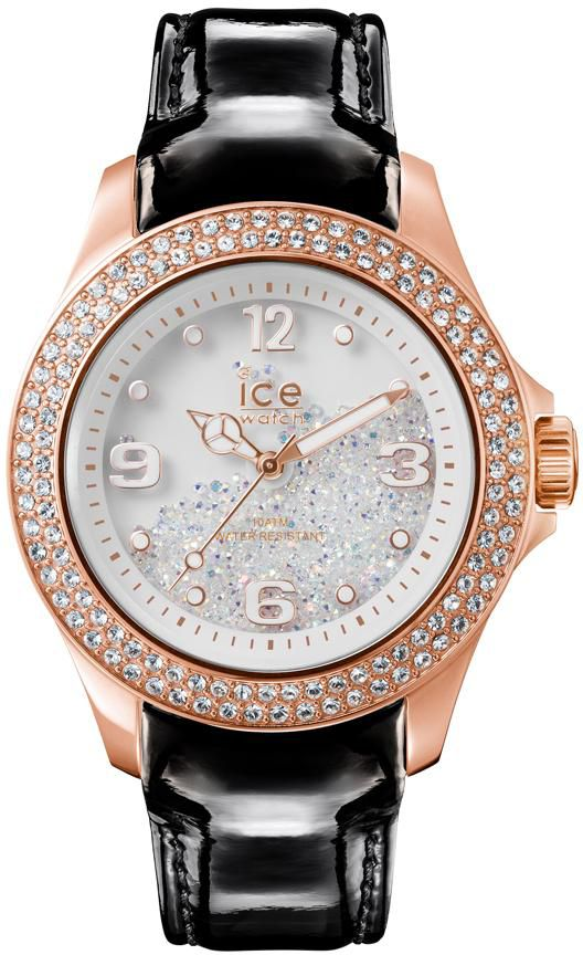 ICE WATCH ice-watch Quarzuhr »ICE crystal - Rosé Gold Black, CY.RGB.U.L.15«