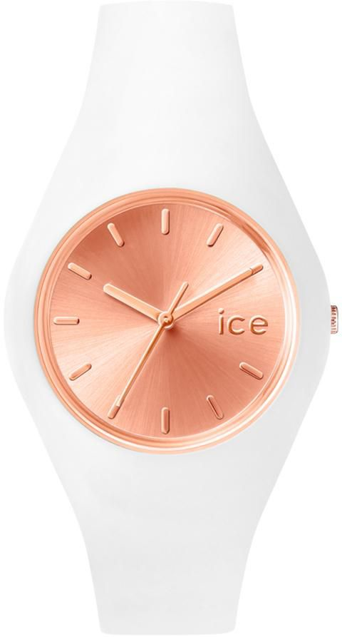 ICE WATCH ice-watch Quarzuhr »ICE chic - White Rosé-Gold, ICE.CC.WRG.U.S.15«