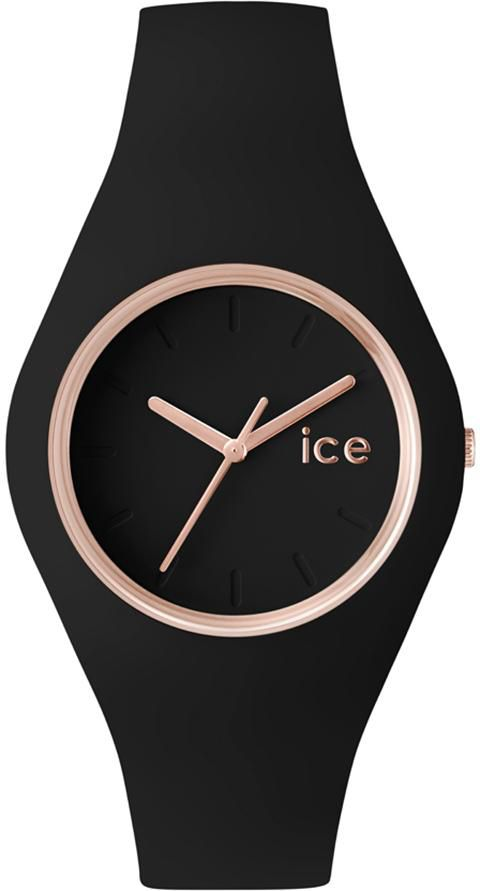ICE WATCH ice-watch Quarzuhr »Ice glam - Rosé Gold Black, ICE.GL.BRG.U.S.14«