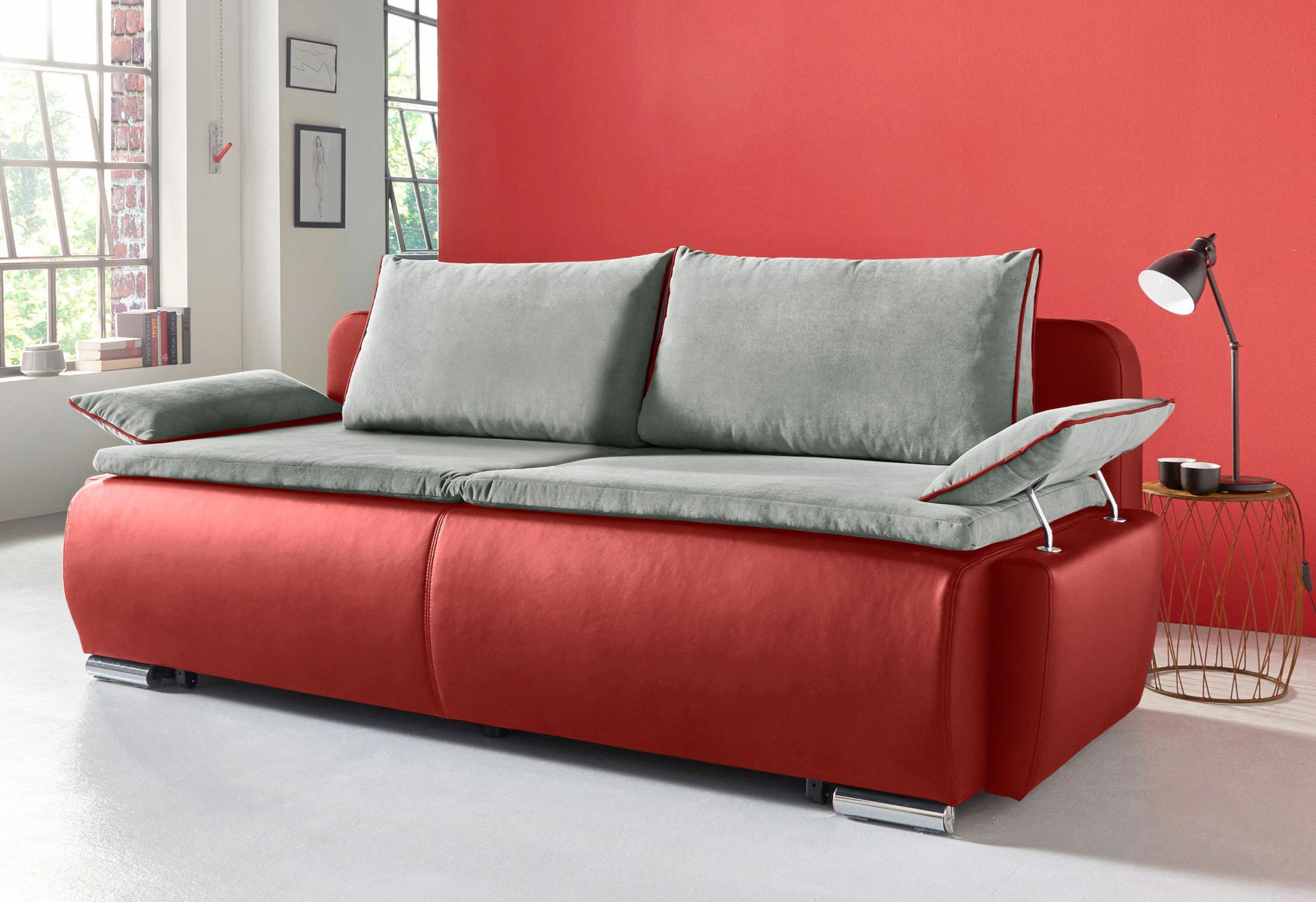 COLLECTION AB Collection AB Schlafsofa mit Boxspring-Aufbau