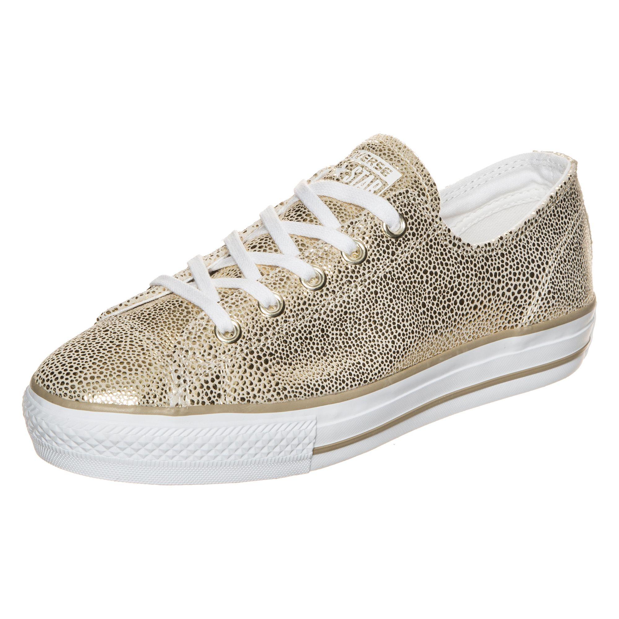 CONVERSE Converse Chuck Taylor All Star High Line Metallic OX Sneaker Damen