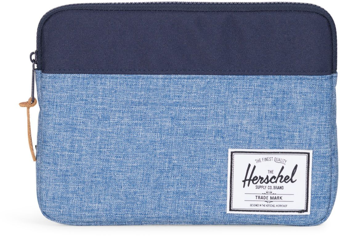 HERSCHEL Herschel iPad Air Schutzhülle, »Anchor Sleeve, iPad Air, Peacoat/Limoges Crosshatch«