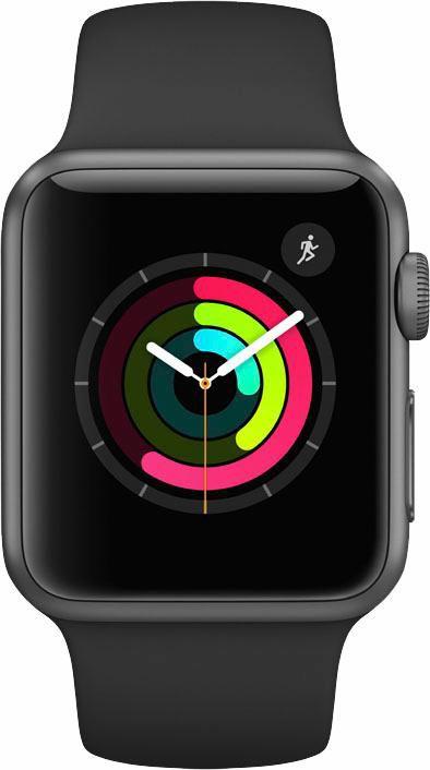APPLE Apple Watch S1 Aluminiumgehäuse 38mm mit Sportarmband