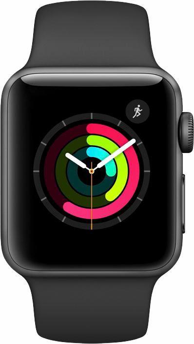 APPLE Apple Watch S2 Aluminiumgehäuse 38mm mit Sportarmband