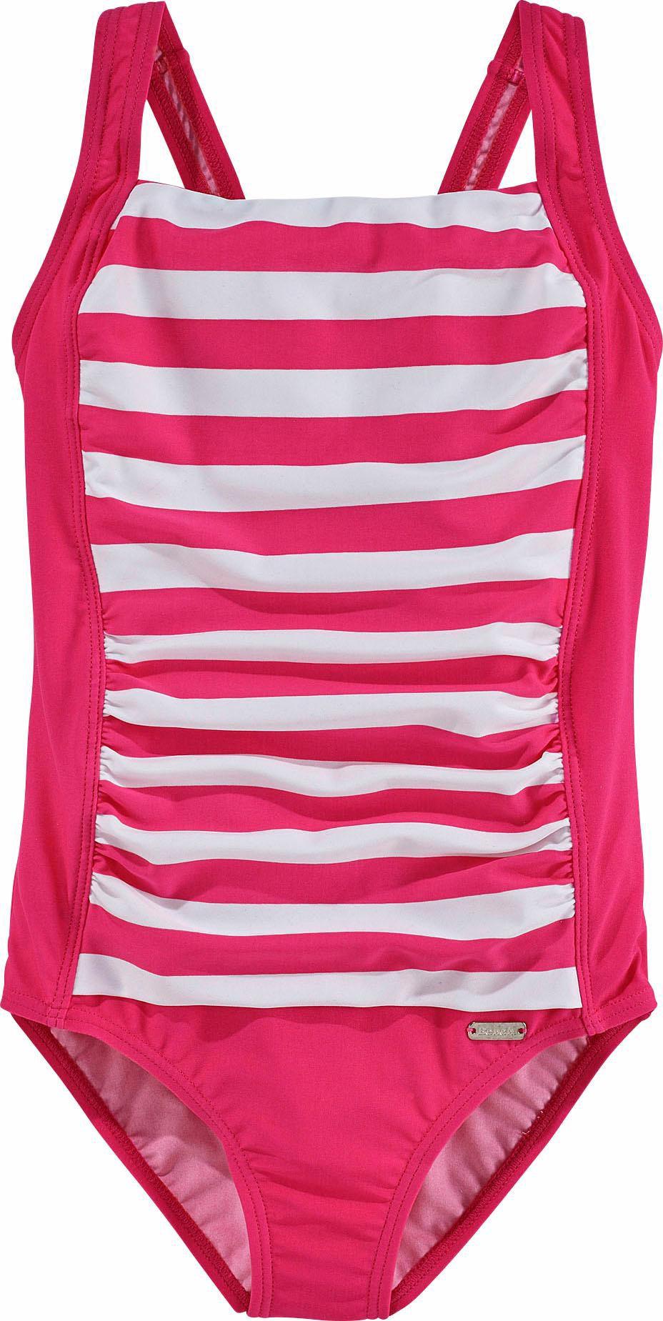 BENCH Bench Badeanzug mit trendigen Streifen