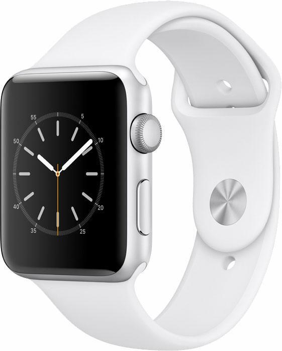 APPLE Apple Watch S2 Aluminiumgehäuse 42mm mit Sportarmband