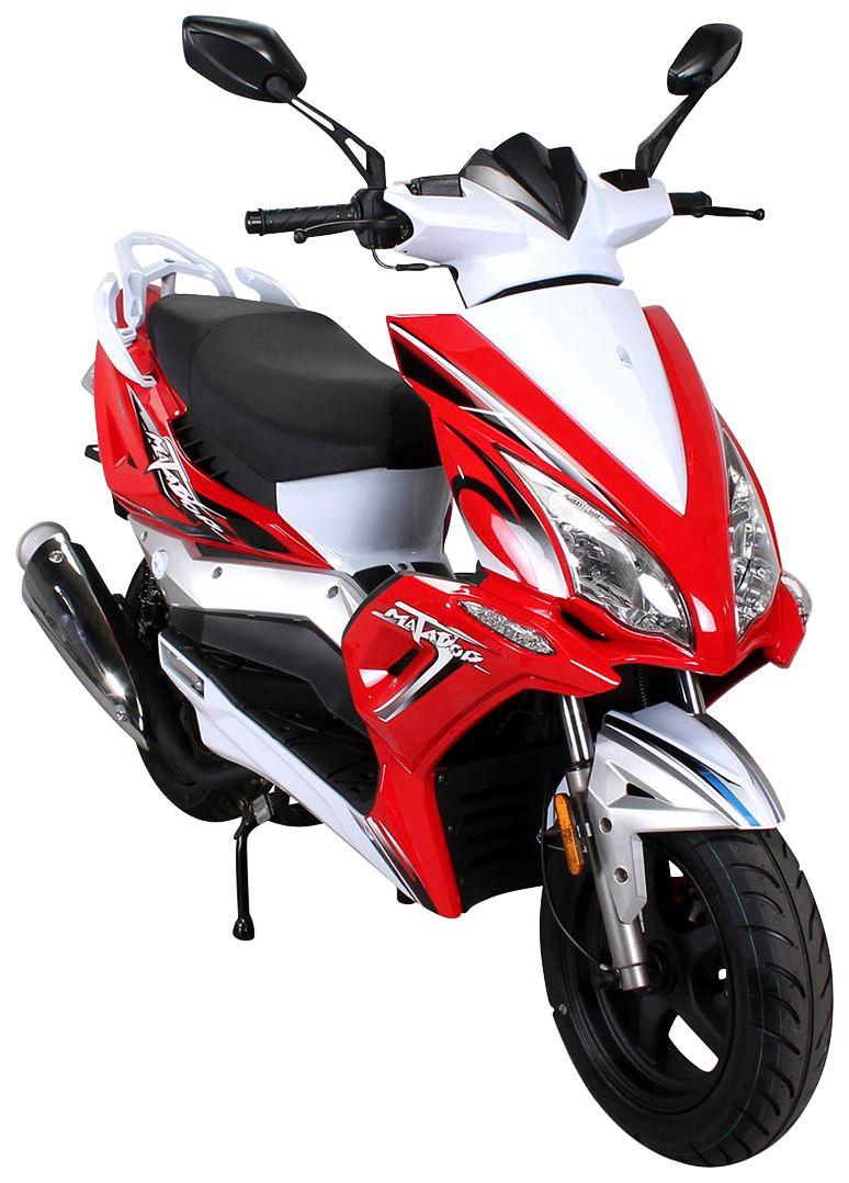 ACTIONBIKES MOTORS Actionbikes Motors Motorroller »Matador«, 125 ccm, 85 km/h