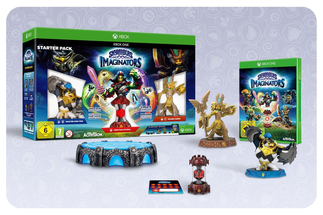 ACTIVISION Activision XBOX One - Spiel »Skylanders Imaginators Starter Pack«