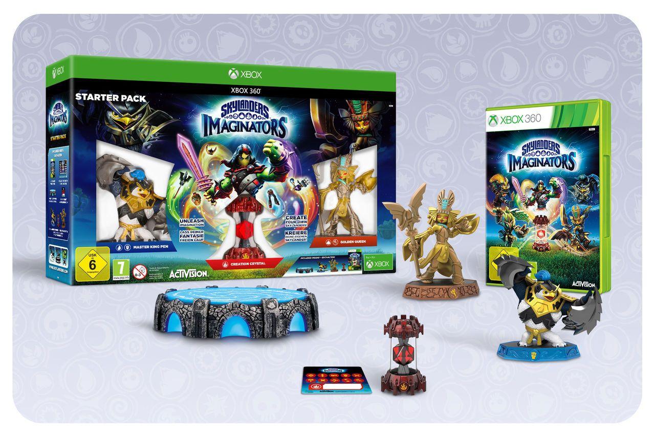 ACTIVISION Activision XBOX 360 - Spiel »Skylanders Imaginators Starter Pack«