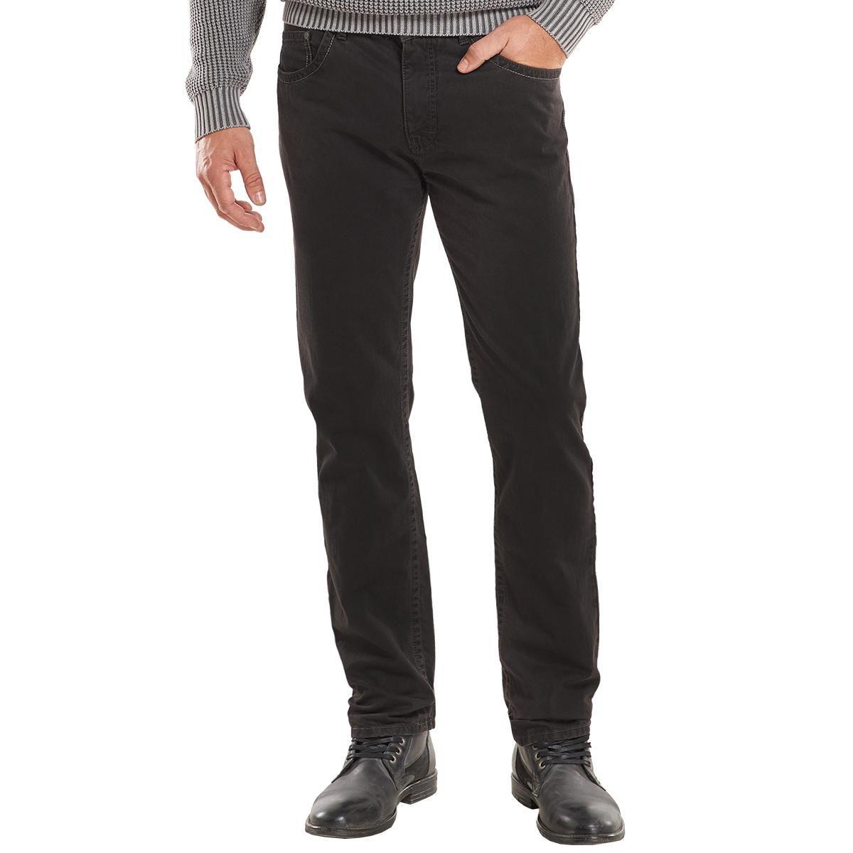 ENGBERS engbers Doppelt gefärbte Hose