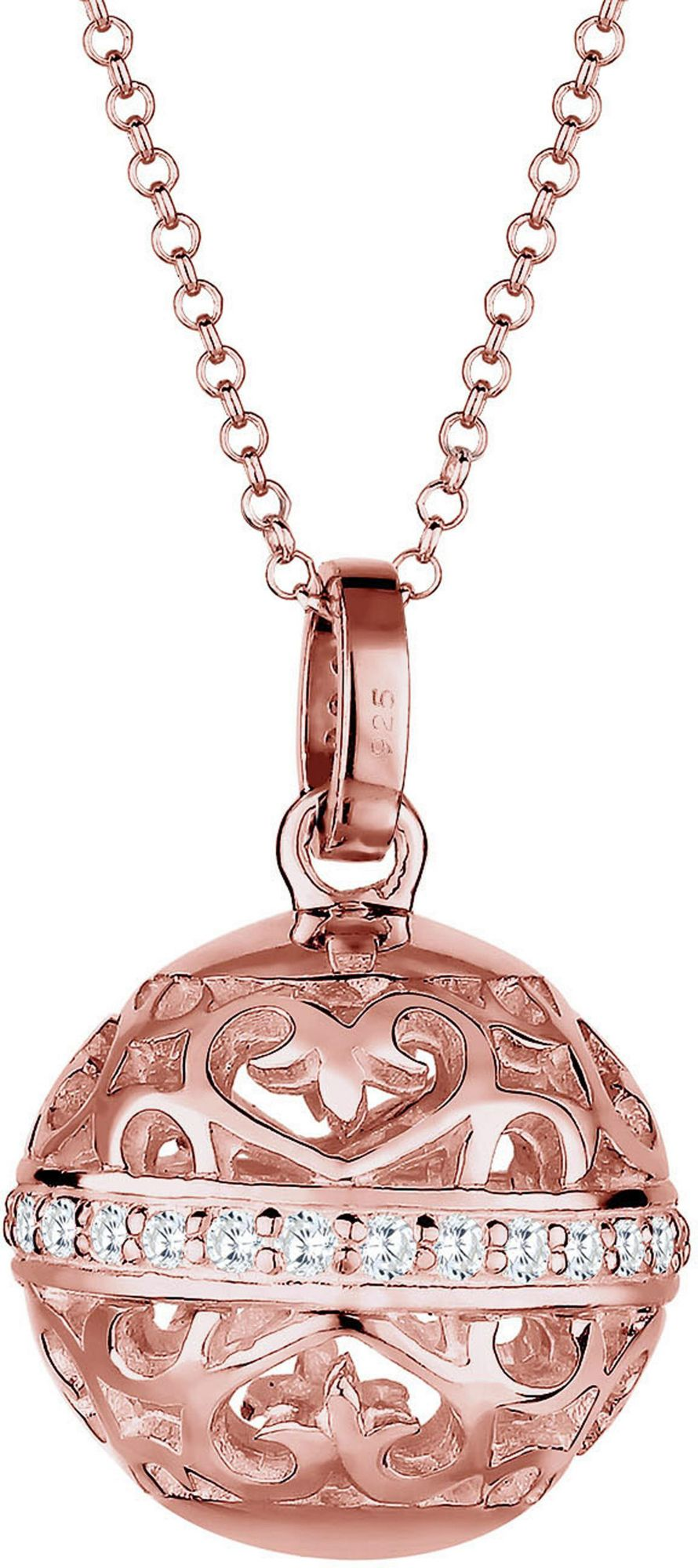ELLI PREMIUM Elli Premium Kette mit Anhänger »Ornament, Elli PREMIUM, 0103711715«