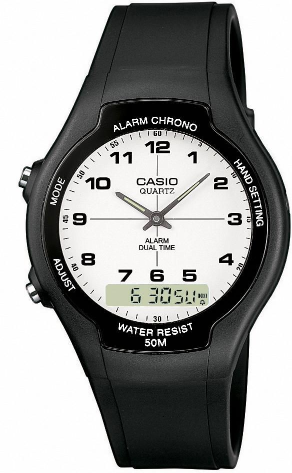 CASIO COLLECTION Casio Collection Chronograph »AW-90H-7BVES«