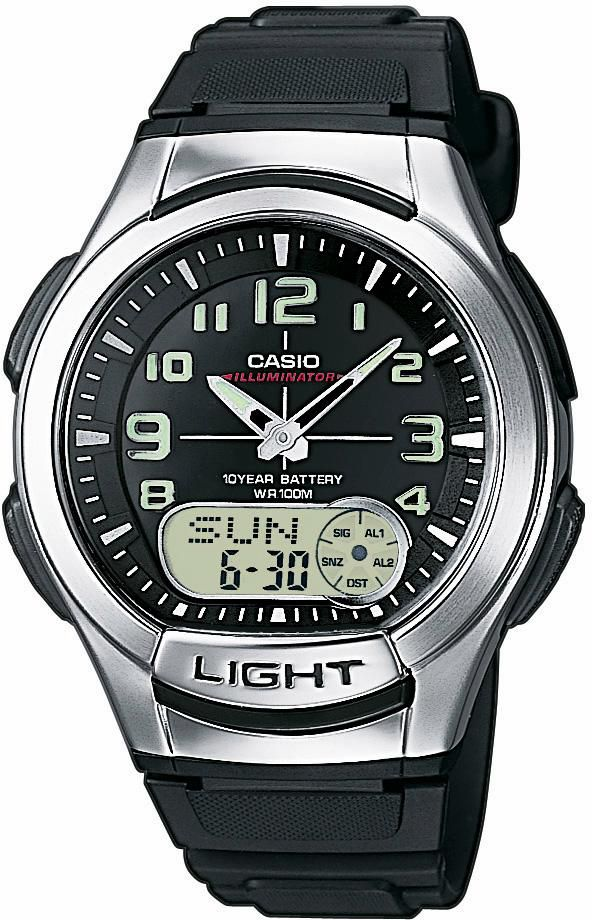 CASIO COLLECTION Casio Collection Chronograph »AQ-180W-1BVES«