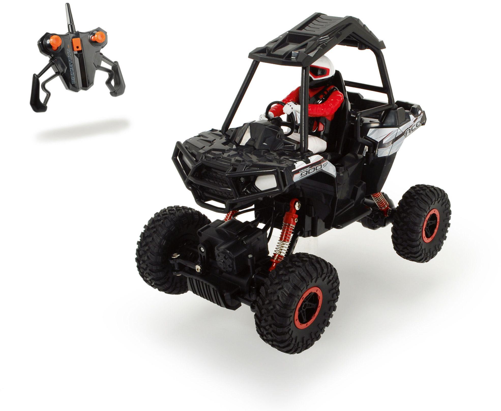DICKIE TOYS Dickie Toys RC Komplett Set, »Polaris ACE Sportsman Rock Crawler 2,4 GHz 1:8«