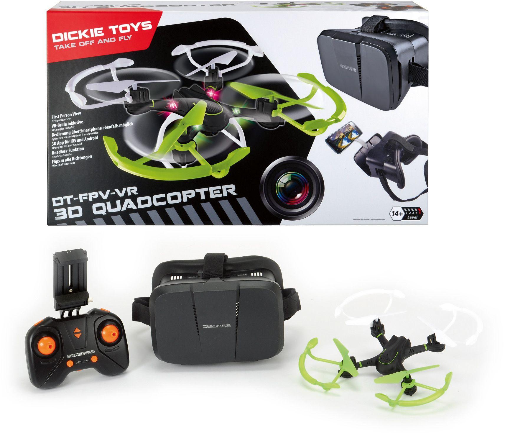 DICKIE TOYS Dickie RC FPV Quadrocopter