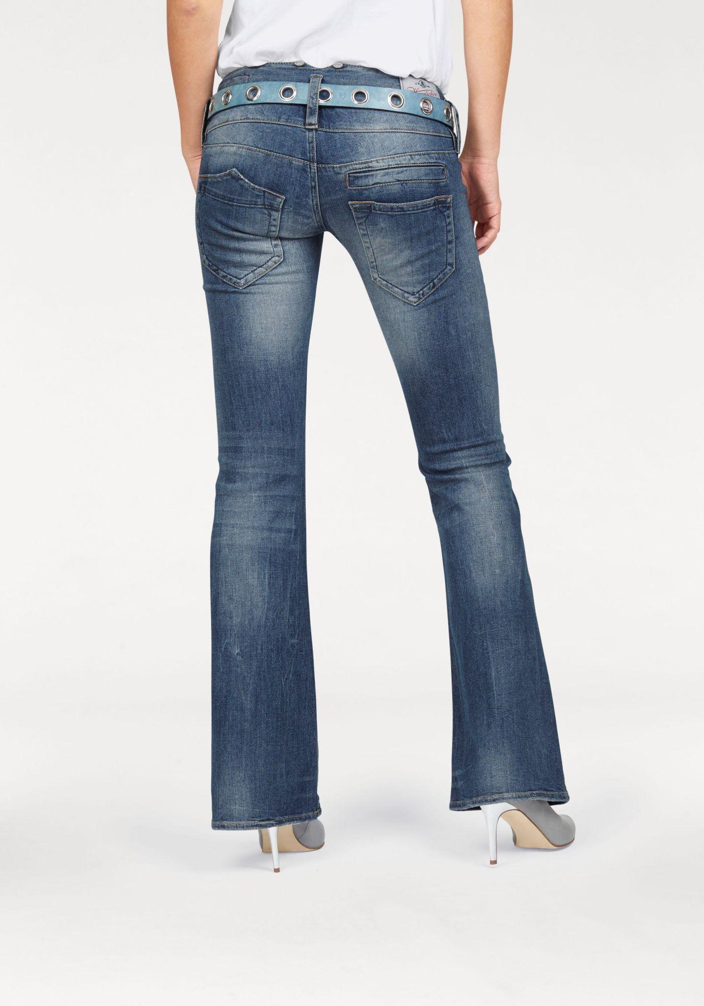 HERRLICHER Herrlicher Bootcut-Jeans »Pitch Flare«