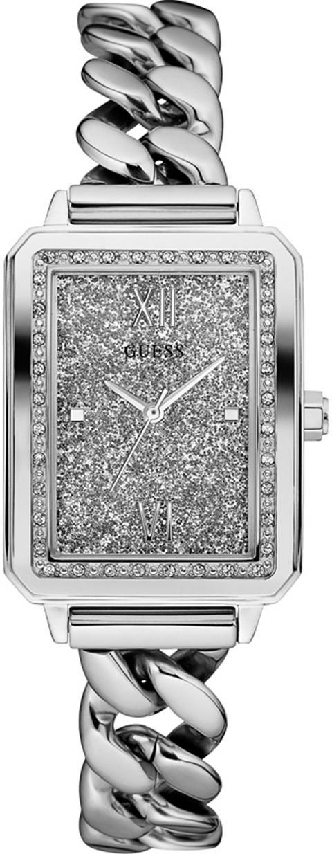 GUESS Damenuhr Ladies Trend Guess silber
