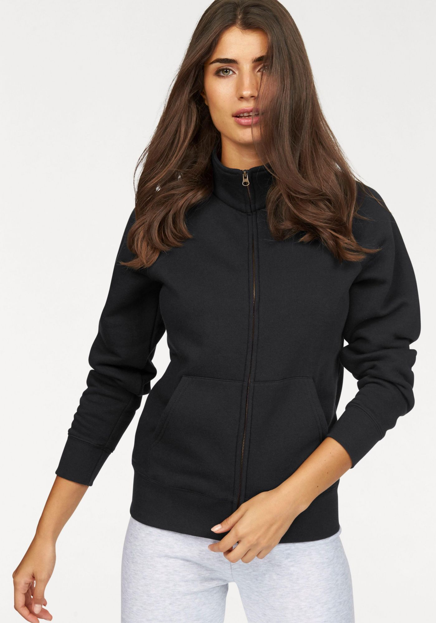 FRUIT OF THE LOOM Fruit of the Loom Sweatshirt »Lady-Fit Premium Sweat Jacket«