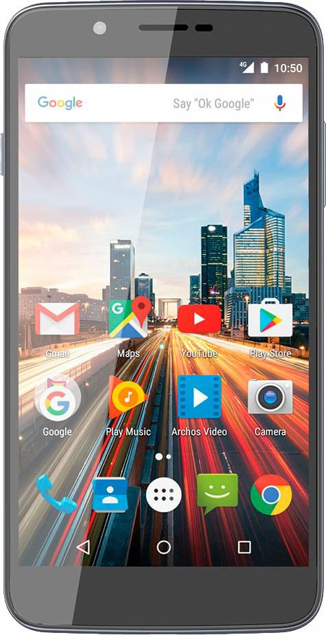 ARCHOS Archos 55 Helium Smartphone, 13,97 cm (5,5 Zoll) Display, LTE (4G), Android 6.0 (Marshmallow)