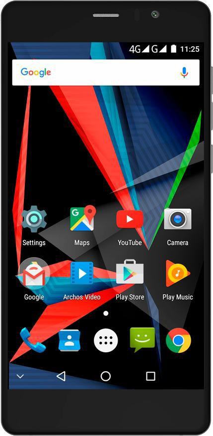 ARCHOS Archos 55 Diamond Selfie Smartphone, 13,97 cm (5,5 Zoll) Display, LTE (4G)