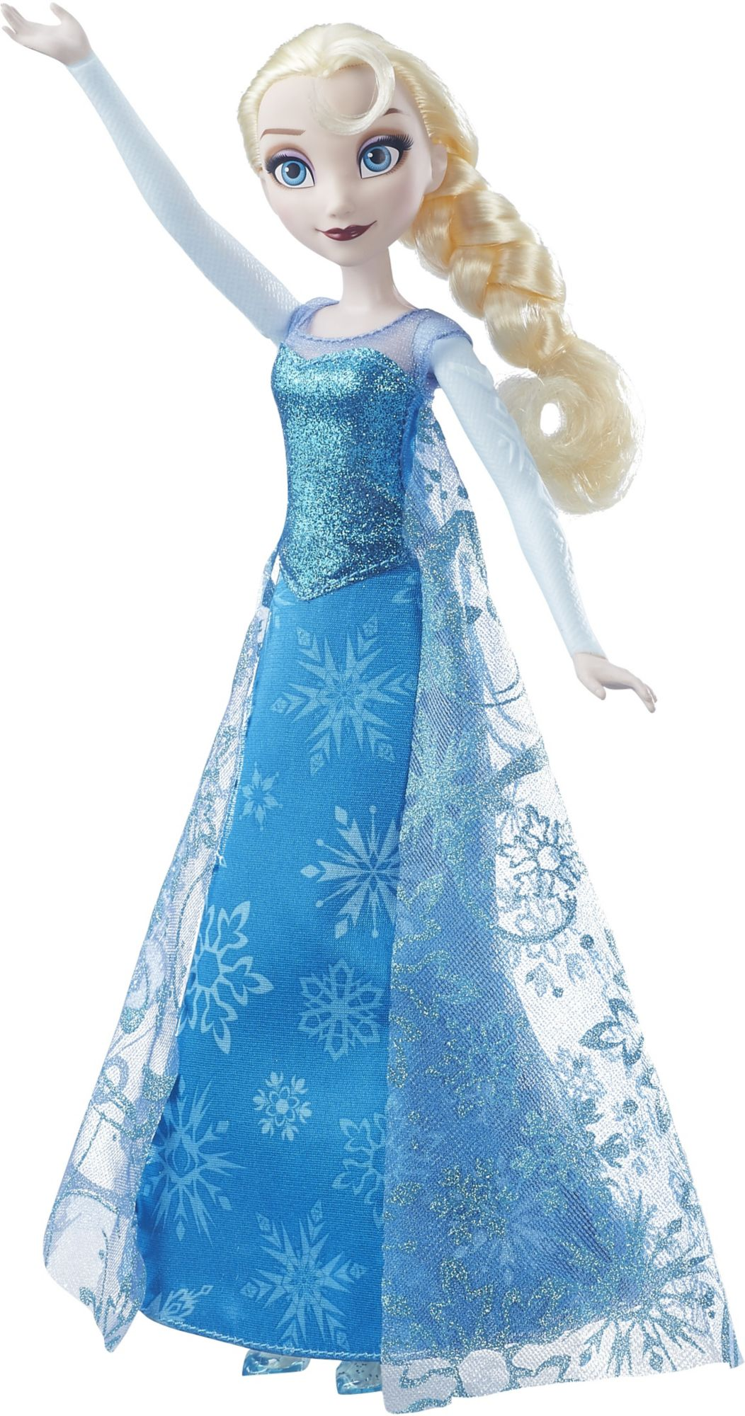 HASBRO Disney - Die Eiskönigin - singende Lichterglanz Elsa, Puppe
