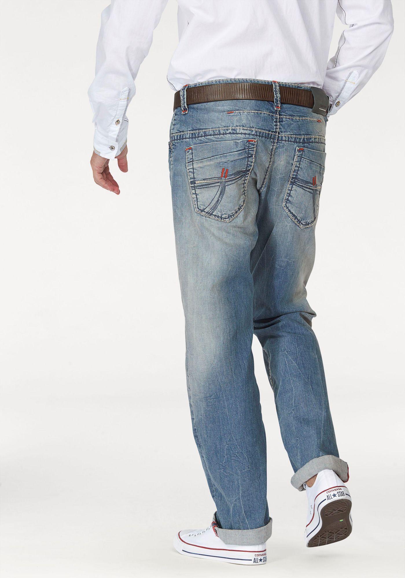 CAMP DAVID  Loose-fit-Jeans