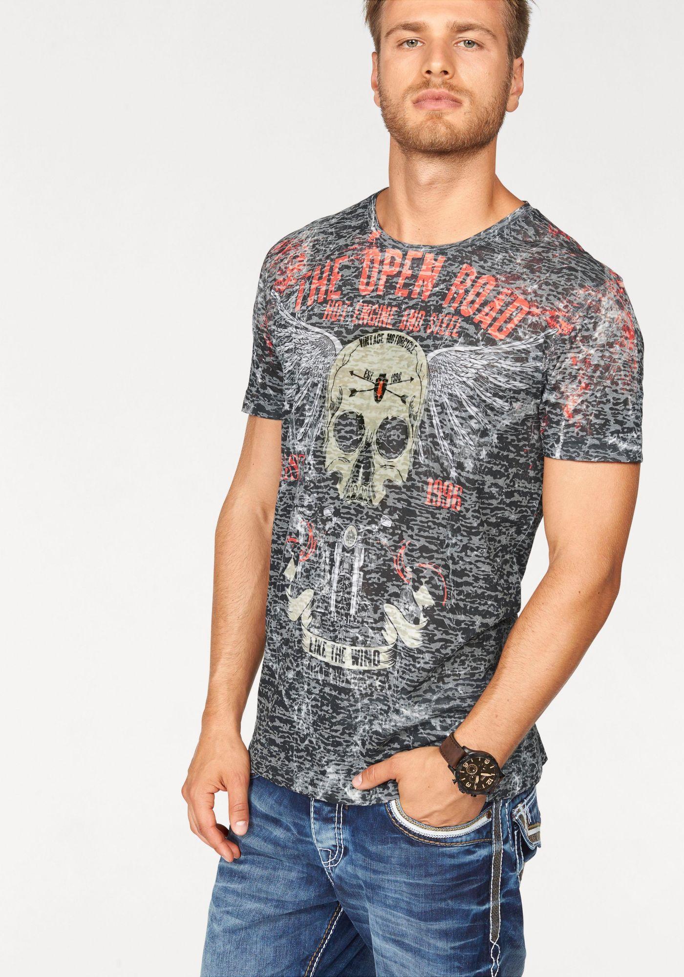CIPO BAXX Cipo & Baxx T-Shirt »Deadhead«