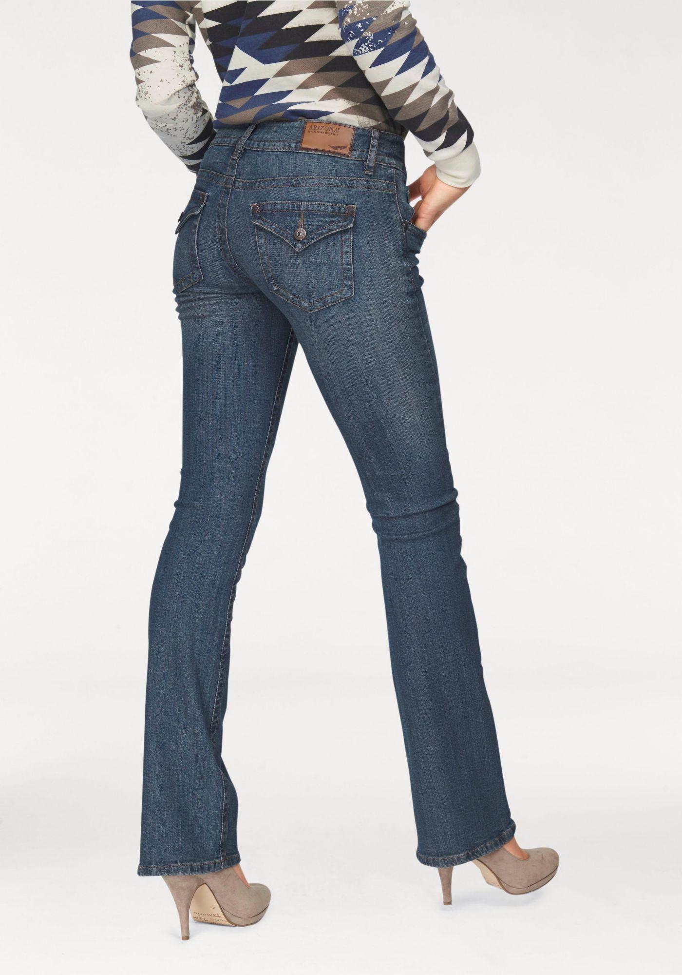 ARIZONA Arizona Bootcut-Jeans »Traum-Po-Schummler«