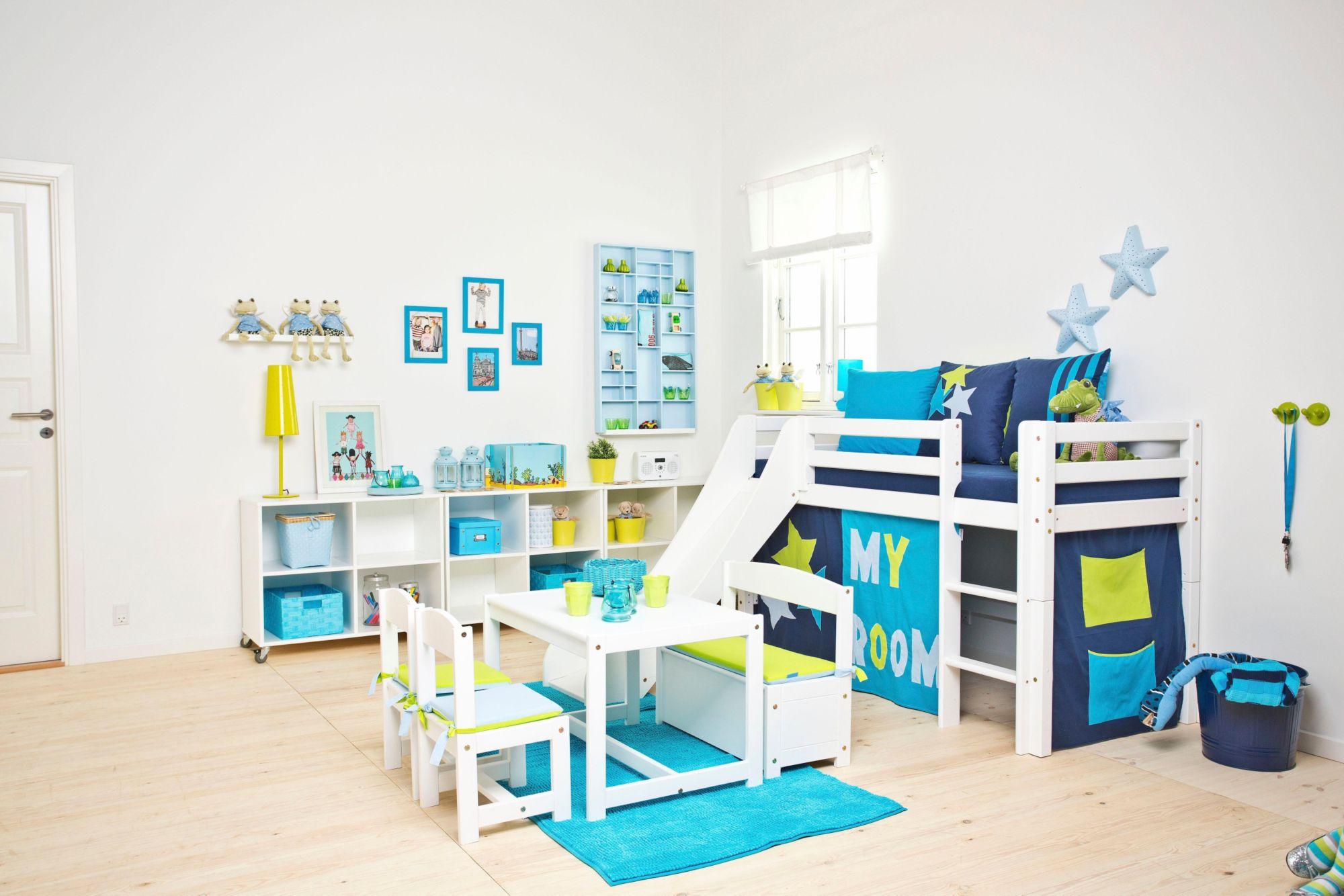 HOPPEKIDS Halbhohes Bett, Hoppekids, »My Room«