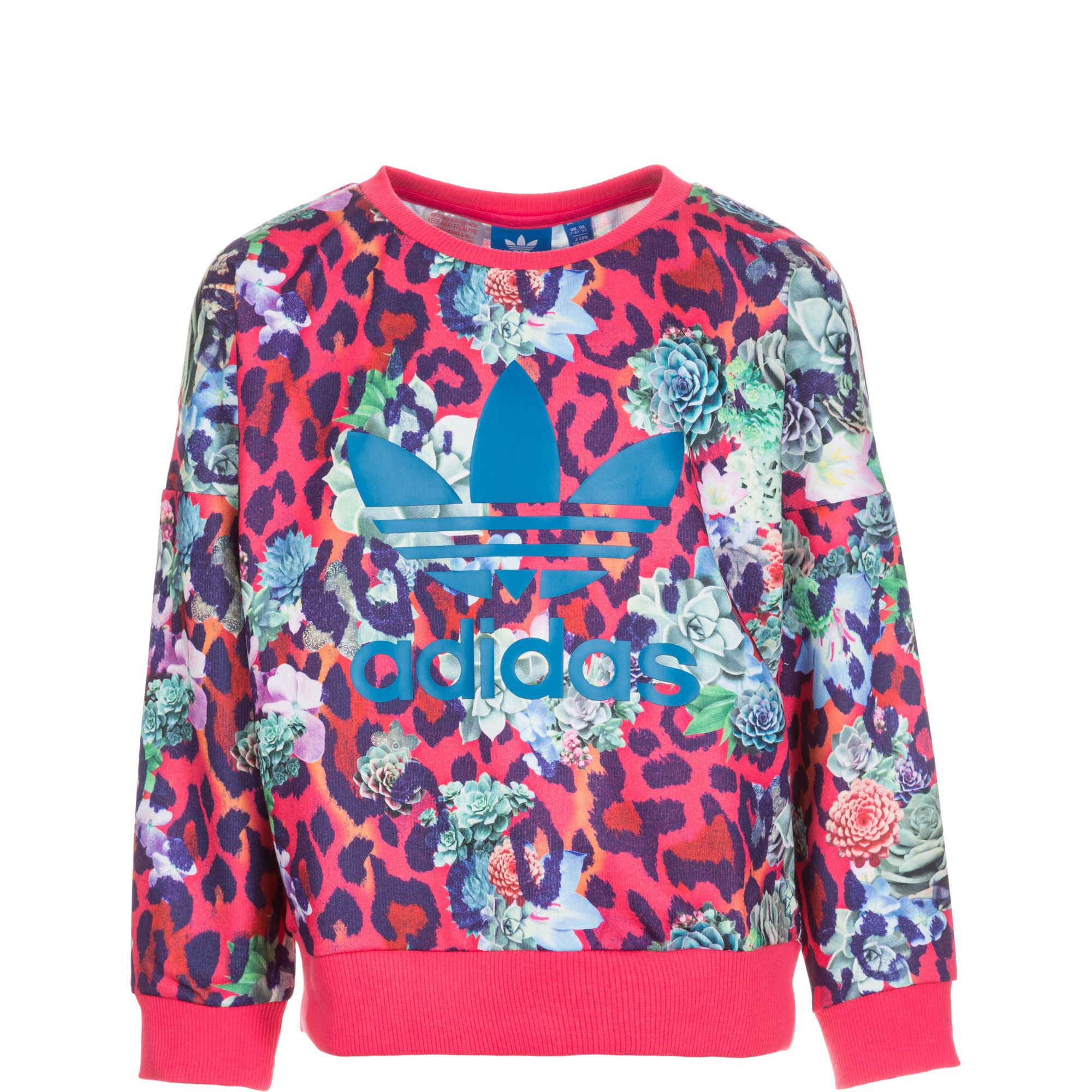 ADIDAS ORIGINALS adidas Originals Rose Crew Sweatshirt Kinder