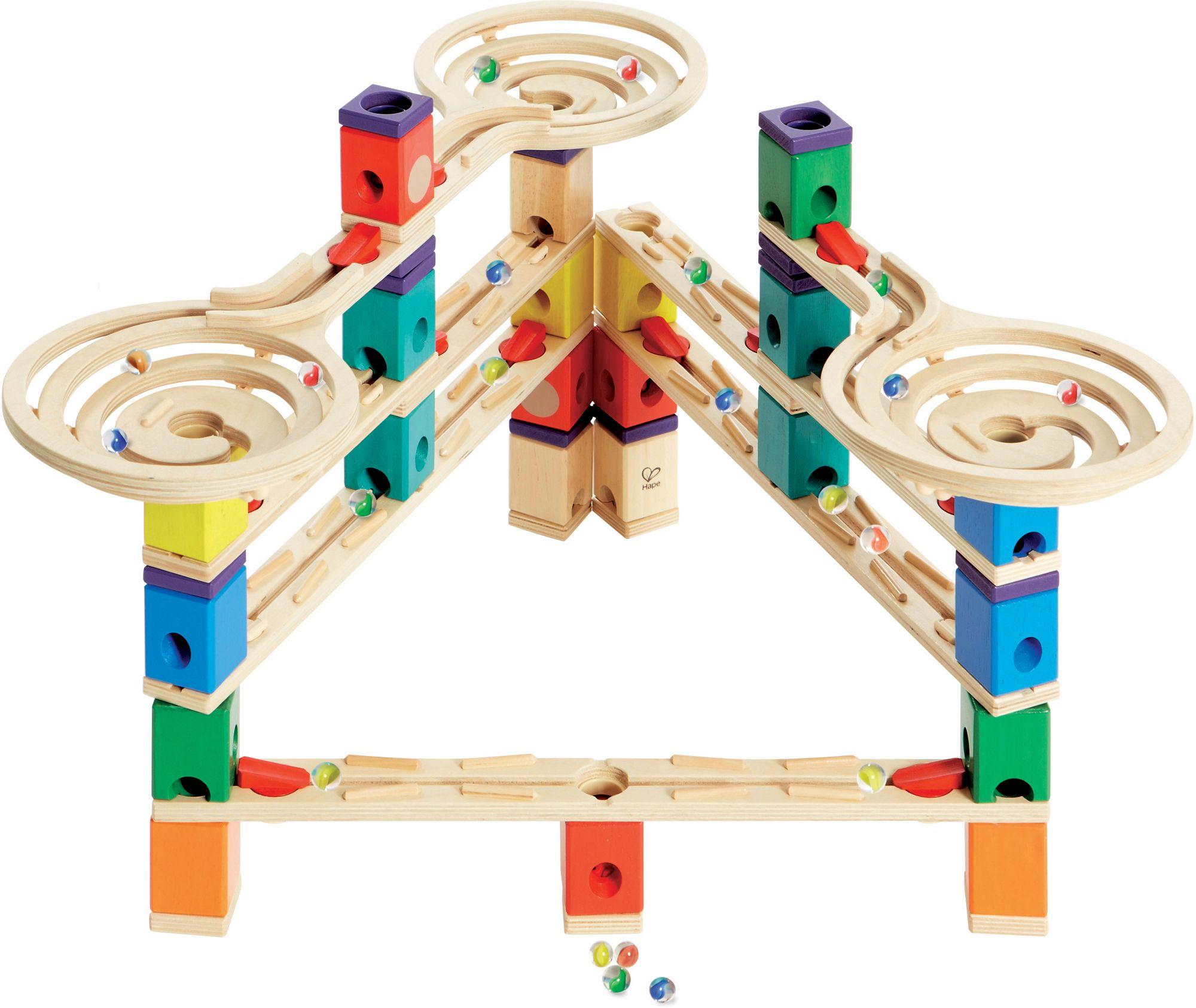 HAPE Hape Kugelbahn aus Holz, »Quadrilla Vertigo«