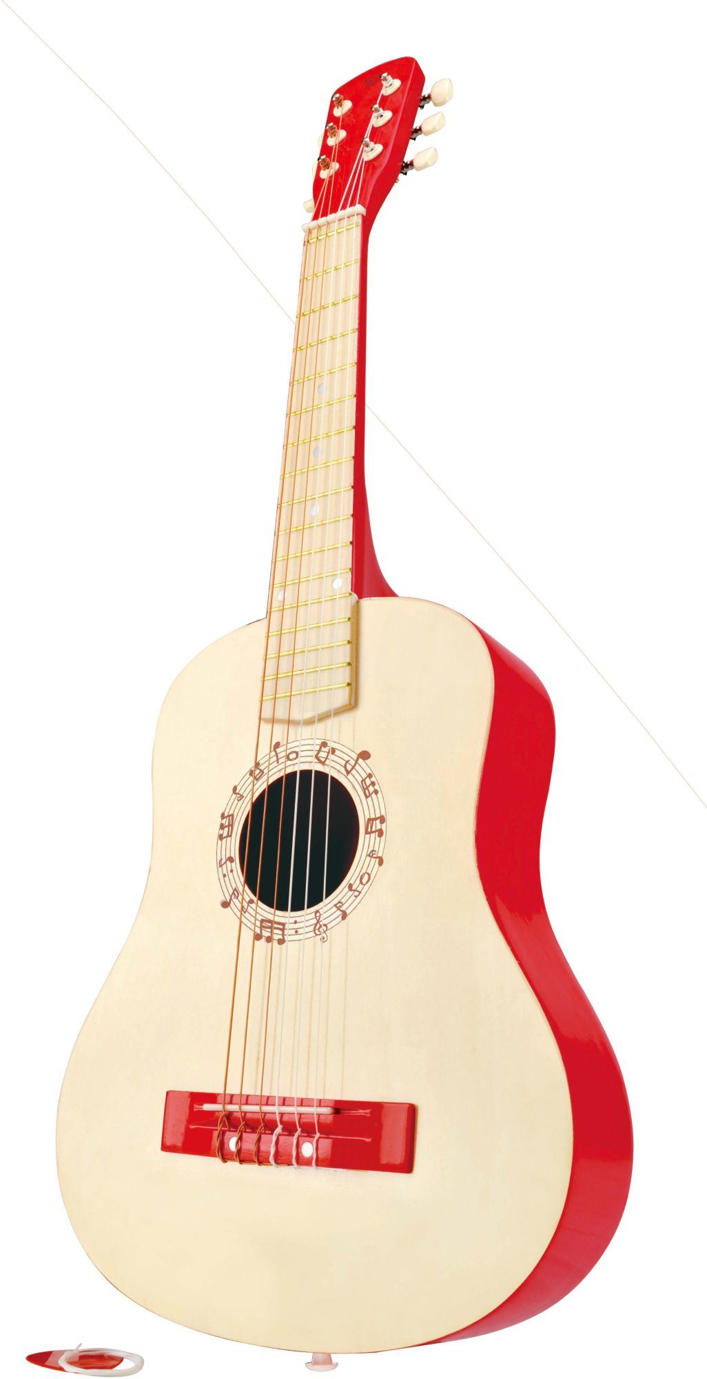 HAPE Hape Kindergitarre, »Gitarre in Rot«