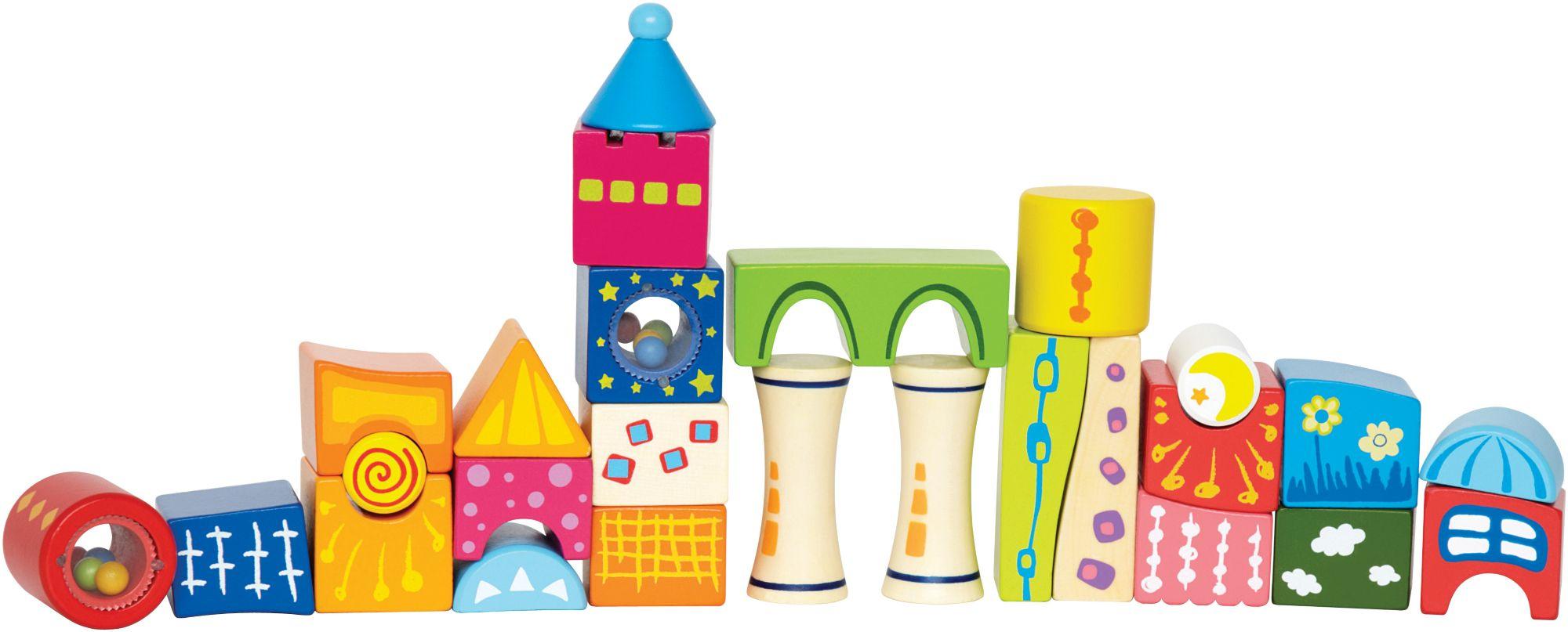 HAPE Hape Bausteineset, »Fantasiebausteine Schloss«