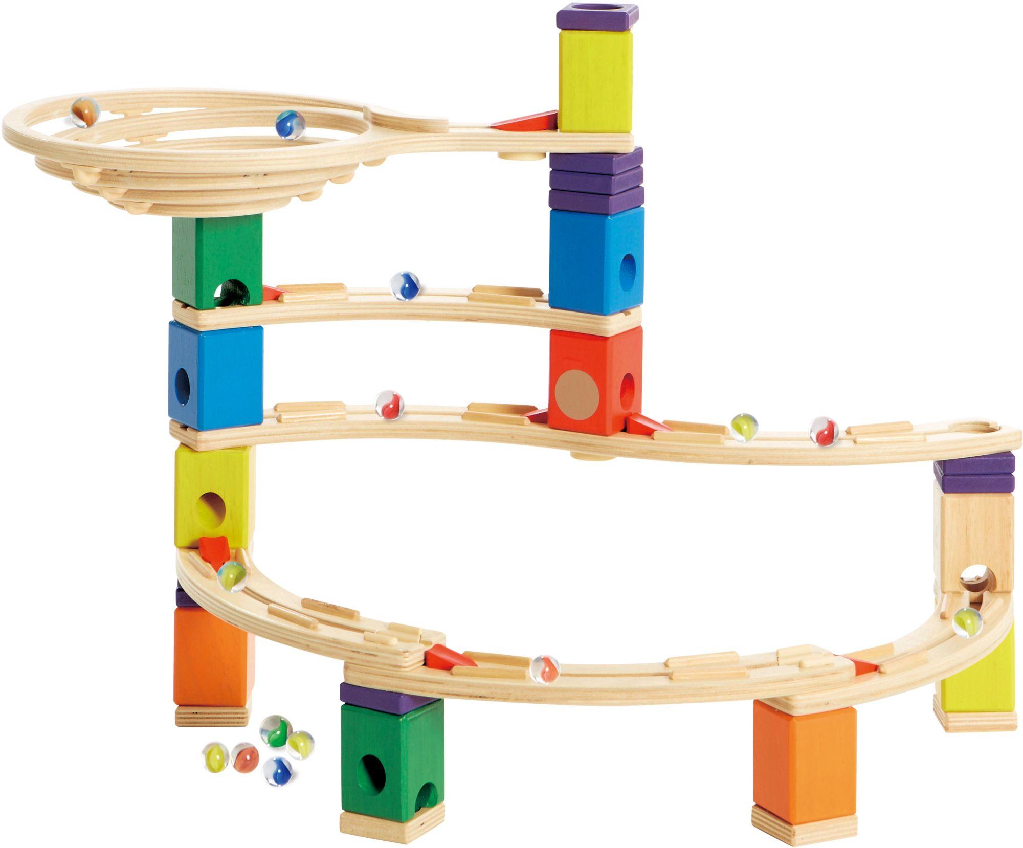 HAPE Hape Kugelbahn aus Holz, »Quadrilla Whirlpool«
