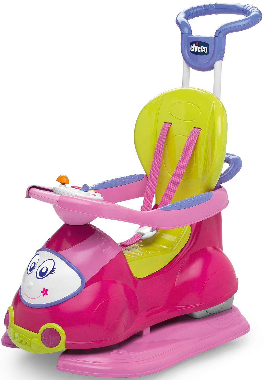 CHICCO Chicco® 4in1 Rutscher und Lauflernwagen mit Activity Center, »Quattro, Pink«