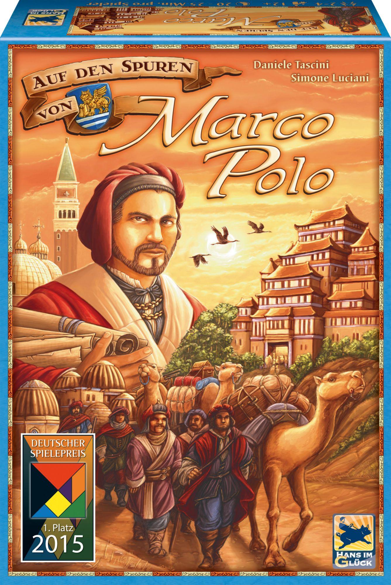 HANS IM GLÜCK Auf den Spuren von Marco Polo, Brettspiel