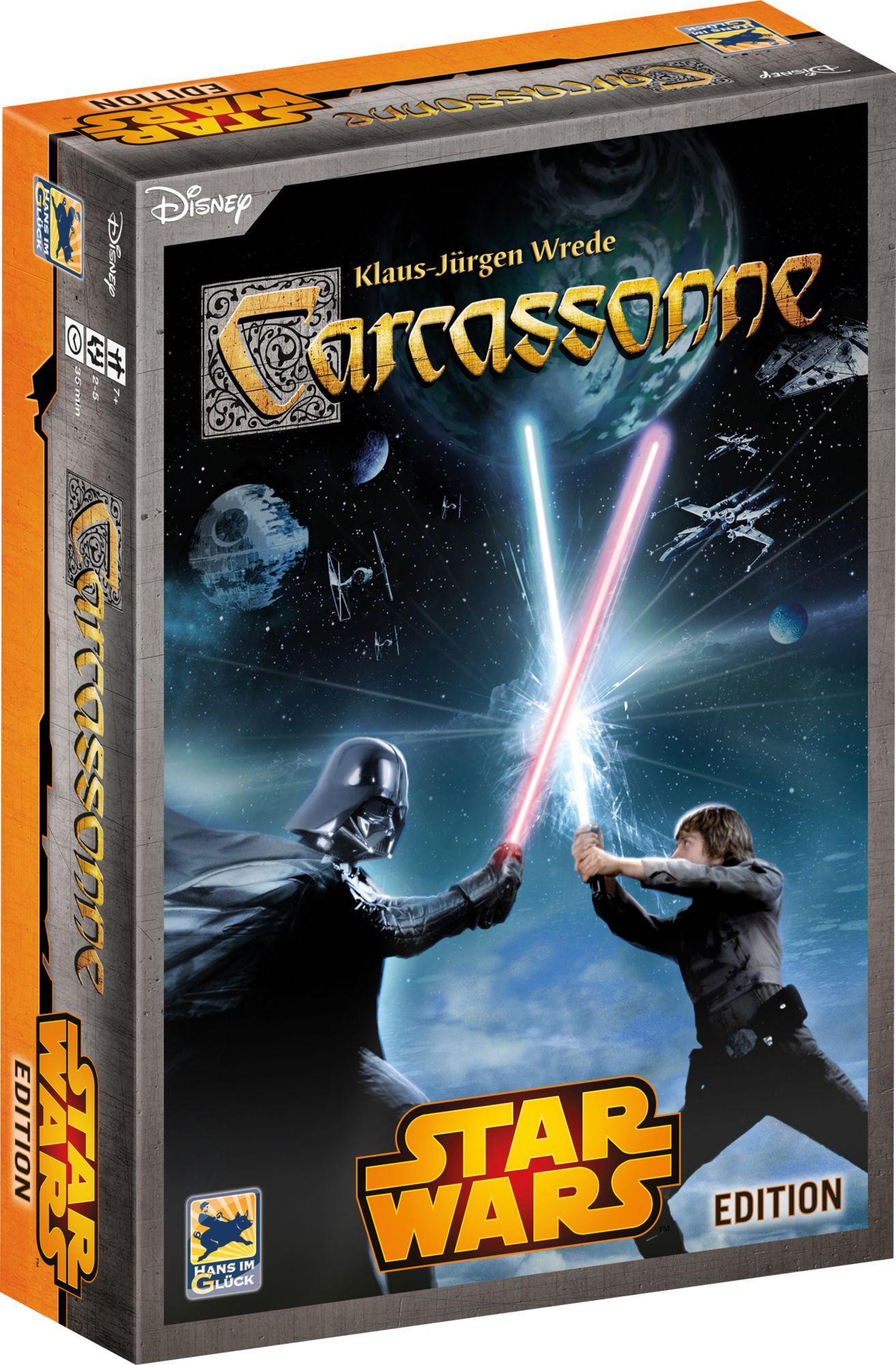HANS IM GLÜCK Hans im Glück Gesellschaftsspiel, »Disney Star Wars?, Carcassonne«
