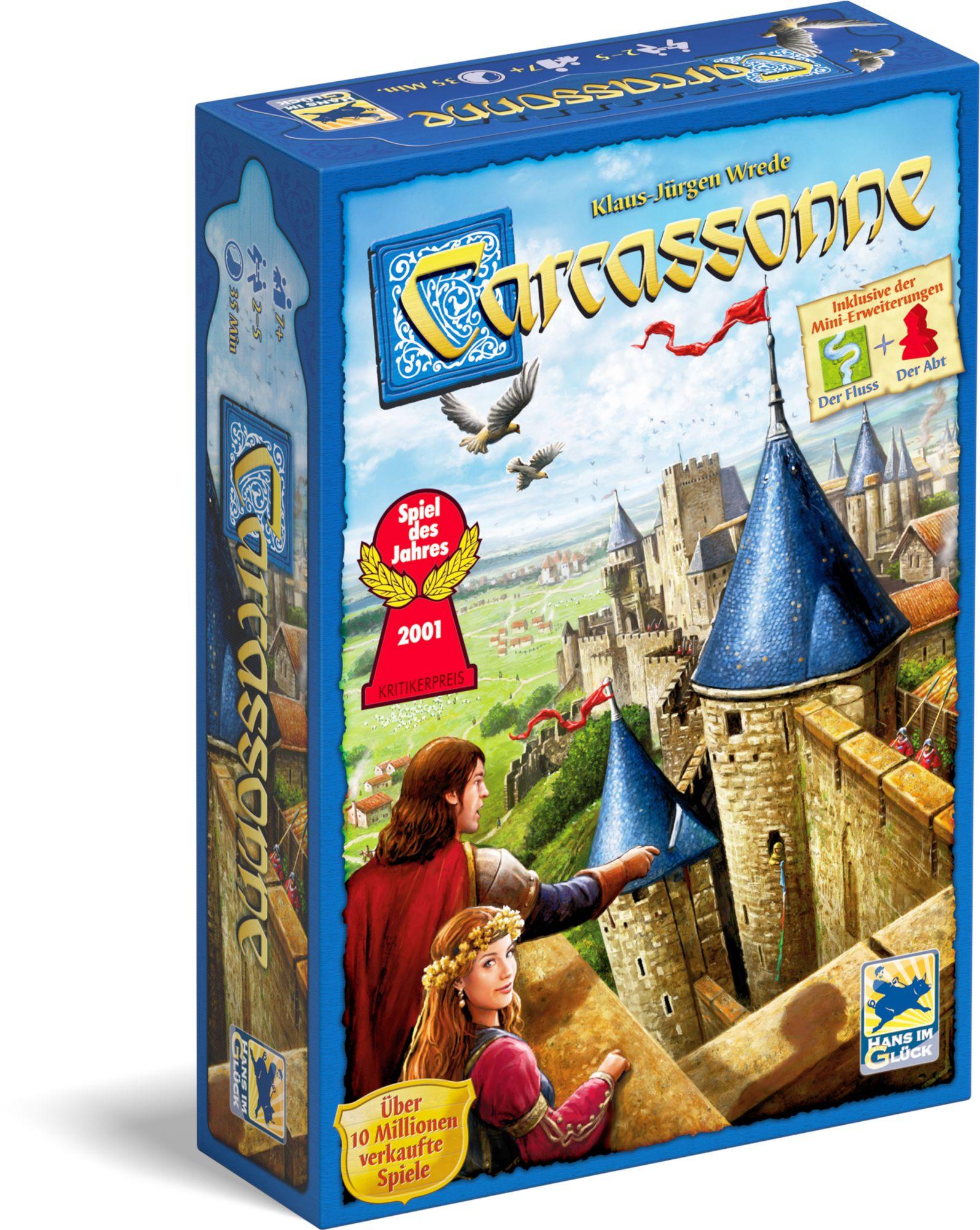 HANS IM GLÜCK Carcassonne (Edition 2014), Brettspiel