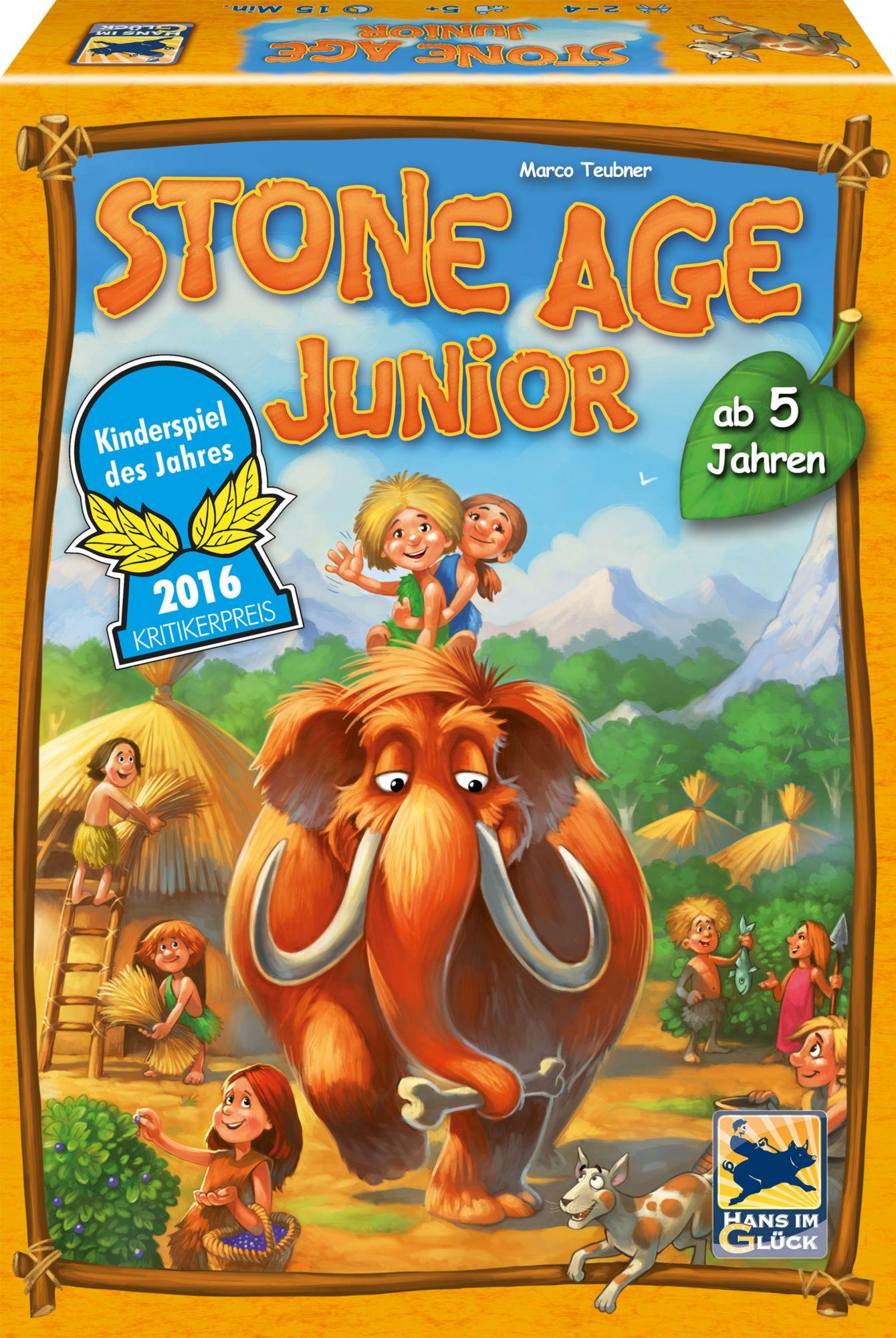HANS IM GLÜCK Hans im Glück Strategiespiel, »Stone Age Junior«