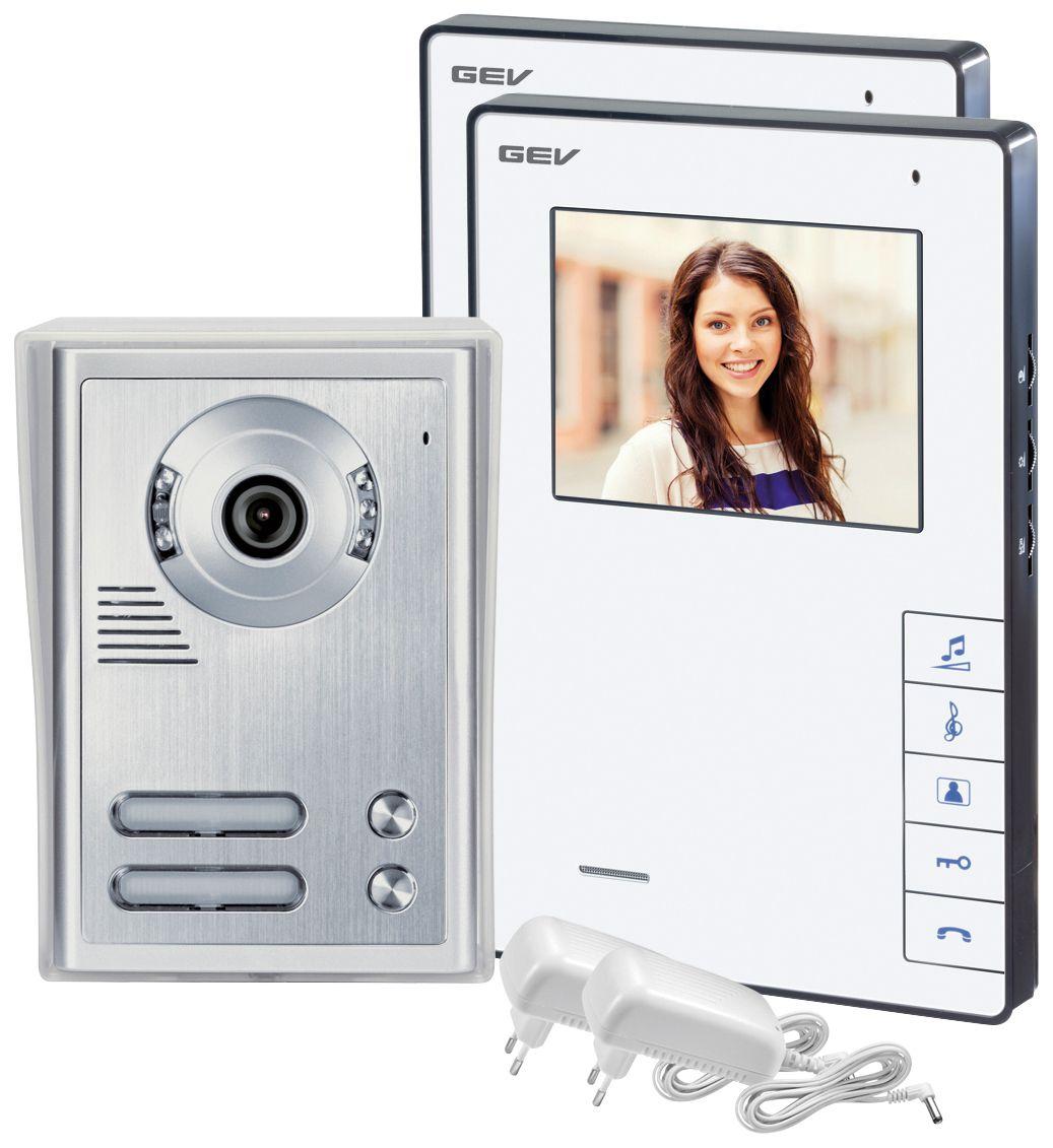GEV  CVB 88337 Video-Türsprechanlage für 2-Familienhaus