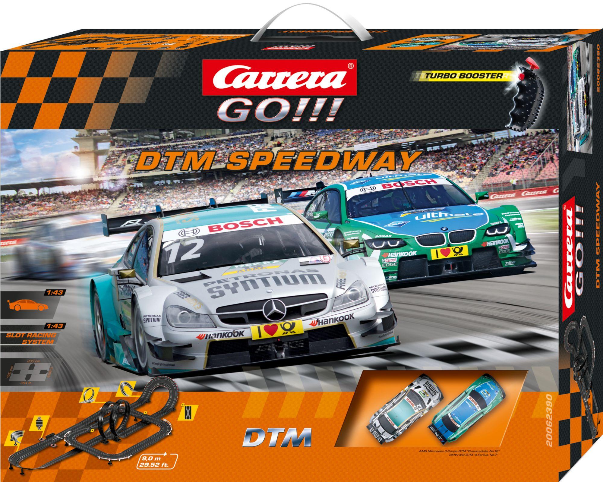 CARRERA Carrera Autorennbahn, »Carrera® GO!!! DTM Speedway«