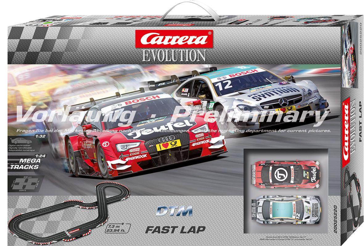 CARRERA Carrera Autorennbahn, »Carrera® Evolution DTM Fast Lap«