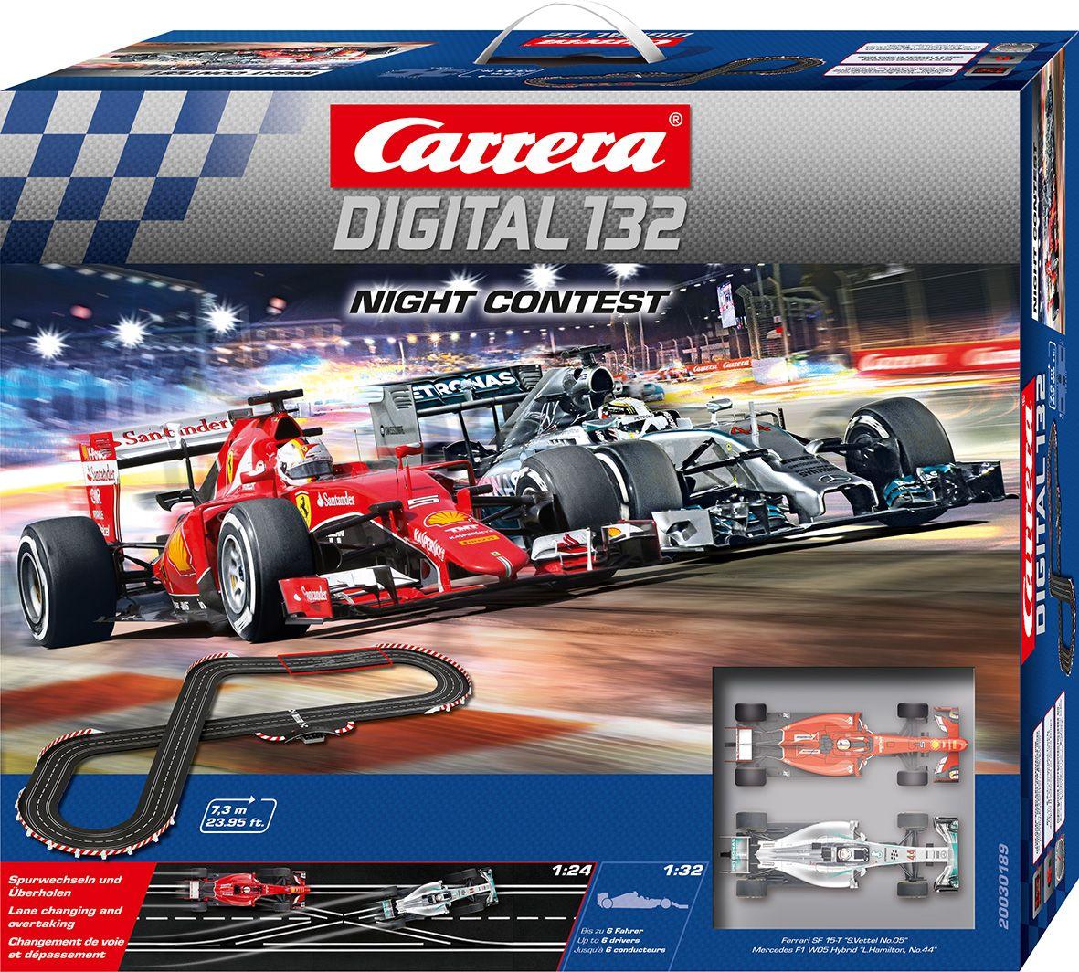 CARRERA Carrera Autorennbahn, »Carrera® Digital 132 Night Contest«