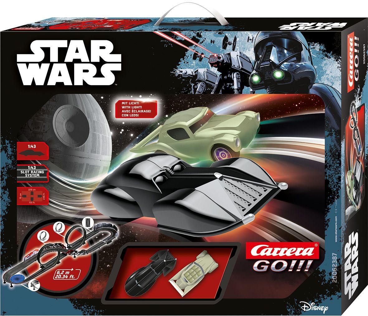 CARRERA Carrera Autorennbahn, »Carrera® GO!!! Disney Star Wars«