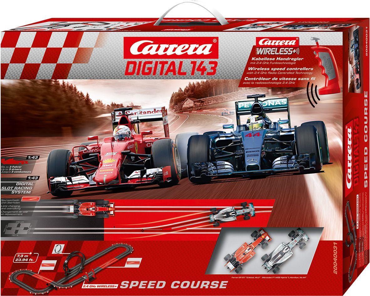 CARRERA Carrera Autorennbahn, »Carrera® Digital 143 Speed Course«