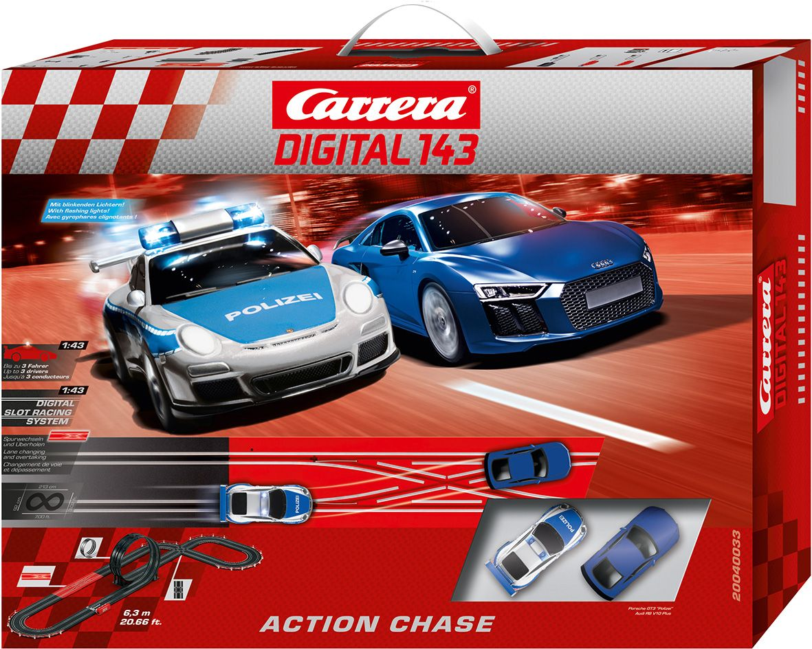 CARRERA Carrera Autorennbahn, »Carrera® Digital 143 Action Chase«