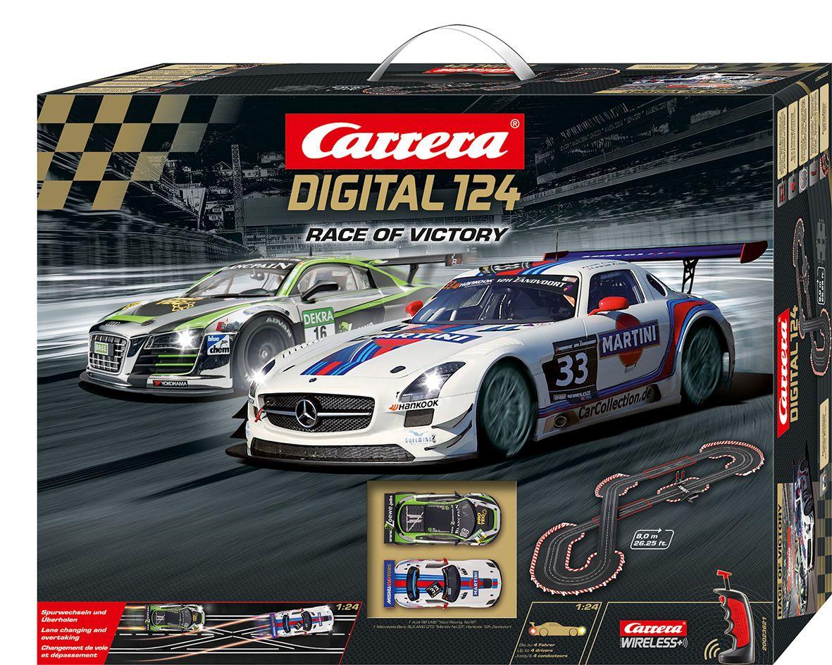 CARRERA Carrera Autorennbahn, »Carrera® Digital 124 Race of Victory«