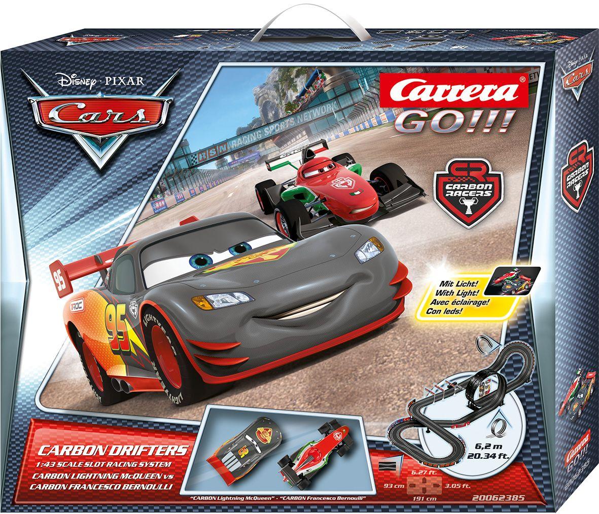 CARRERA Carrera Autorennbahn, »Carrera® GO!!! Disney/Pixar, Carbon Drifters«