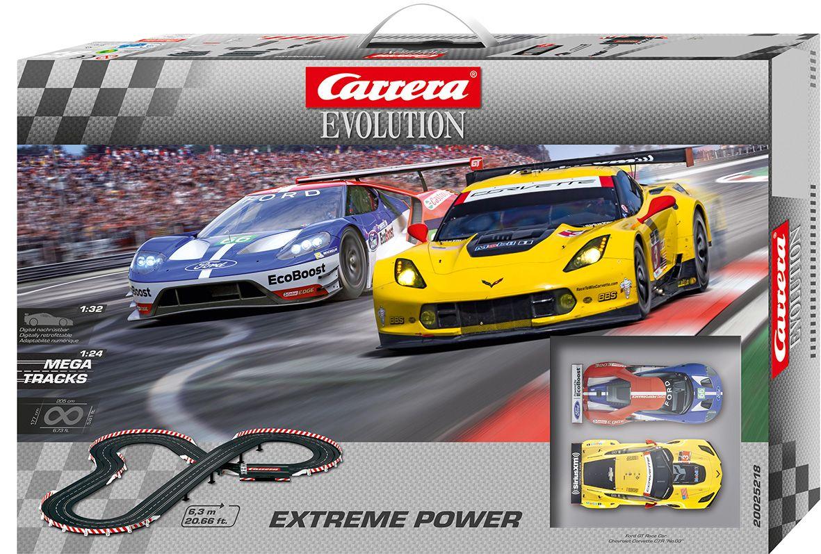 CARRERA Carrera Autorennbahn, »Carrera® Evolution Extreme Power«