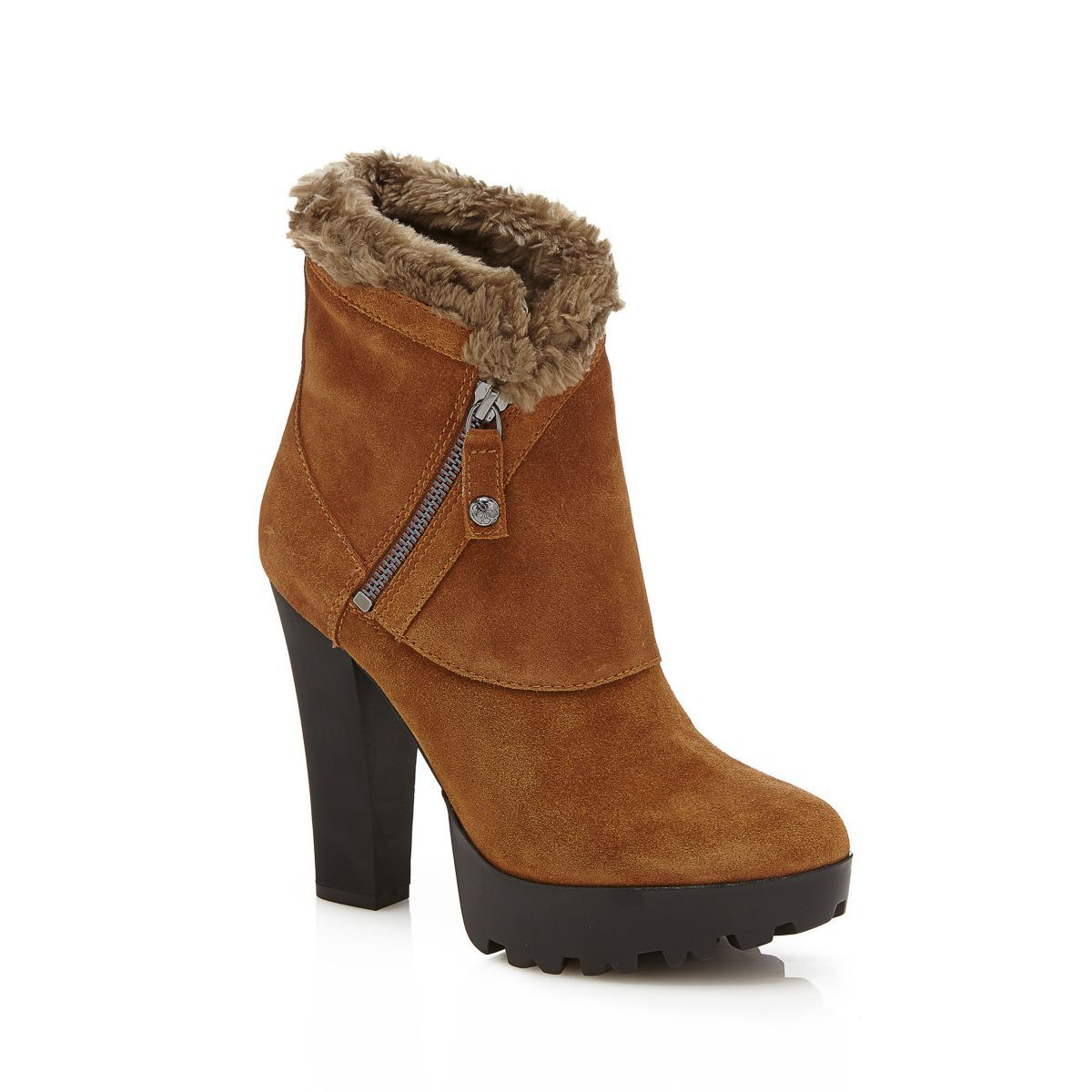 GUESS Guess ANKLE BOOT CLANCI VELOURSLEDER